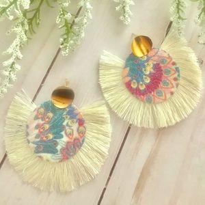 Jewelry - Bohemian Fan Earrings